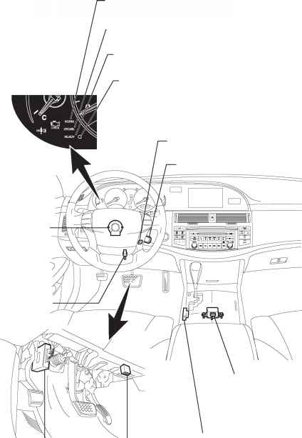 toyota corola yaw rate sensor deceleration sensor