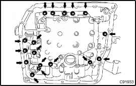 Disconnect Transmission Wire - Toyota Camry 2002-2006 Repair