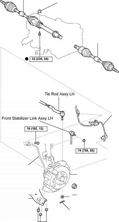 toyota supra suspension diagram