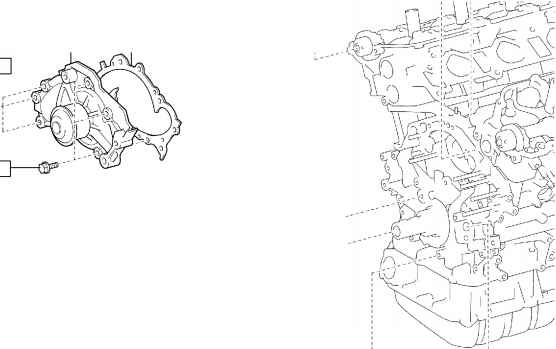 Partial Engine Assy Mzfemzfe Components