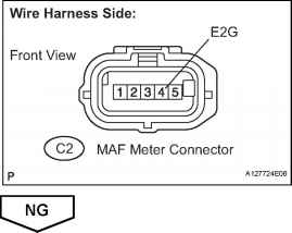 Toyota Air Flow Meter Pinout