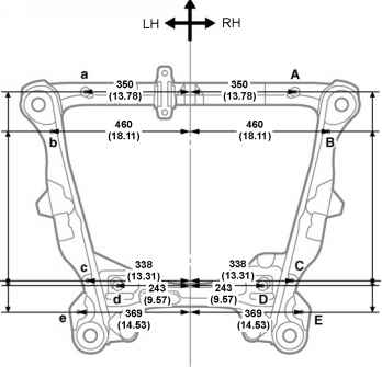 body dimension drawings toyota camry repair toyota service blog rh toyotaguru us 2012 Toyota Camry Parts Diagram 2011 Toyota Camry Frame