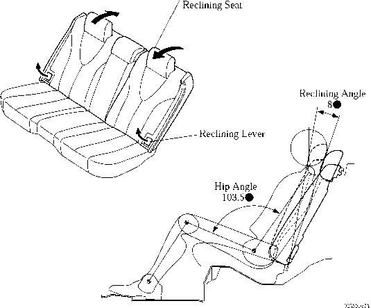 rear seat - toyota camry repair