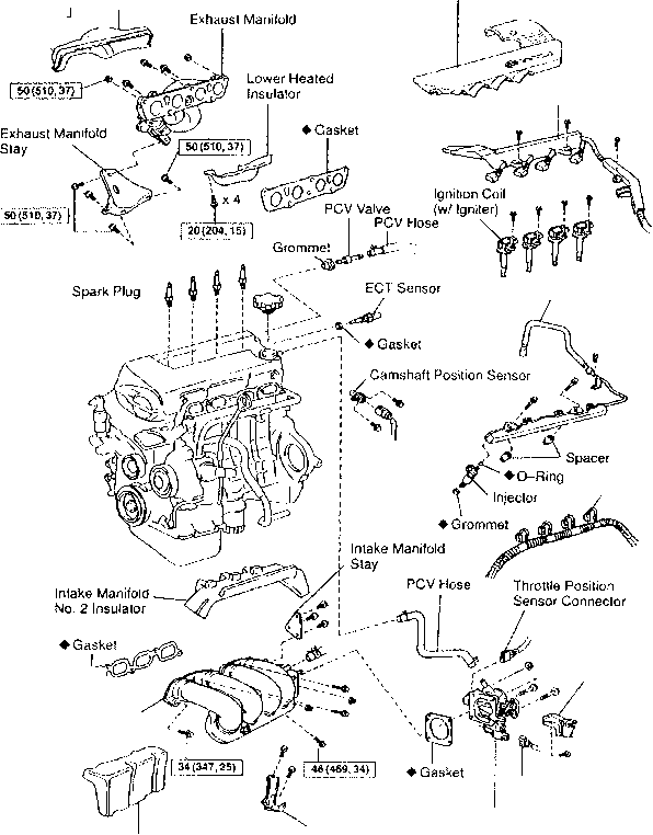 2000 celica engine diagram cylinder