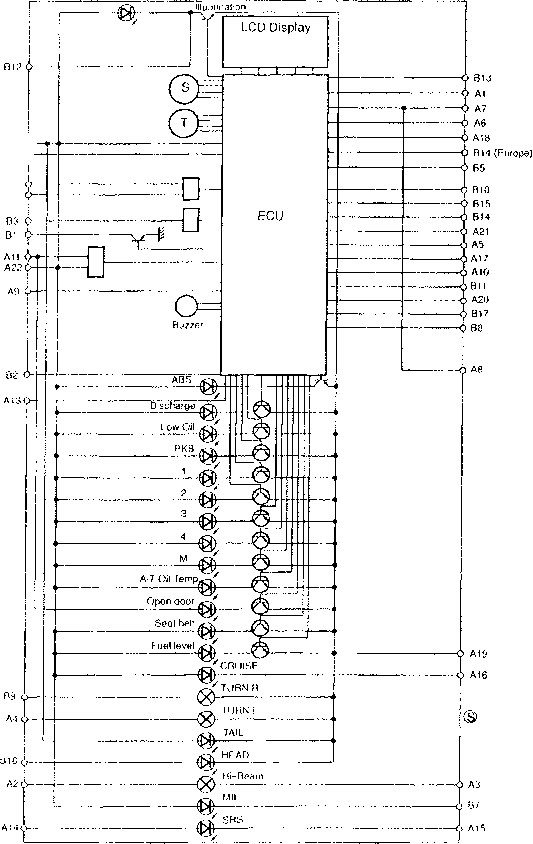 2000 toyota celica ignition wiring diagram  2005 toyota