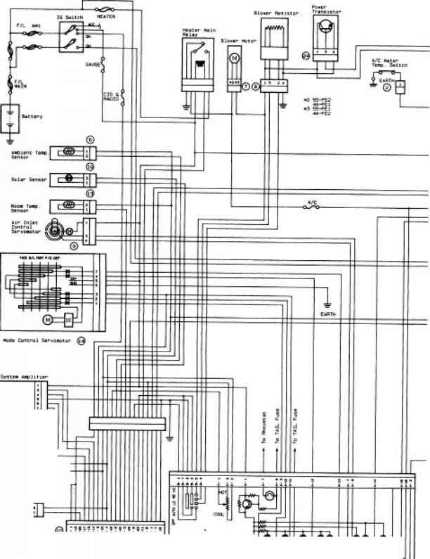 Wiring Diagram Contd - Toyota Celica Manual