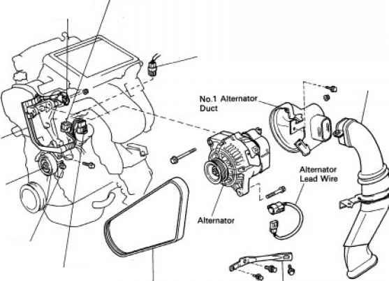 Toyota Mr2 Alternator Wiring Diagram on mg charging system