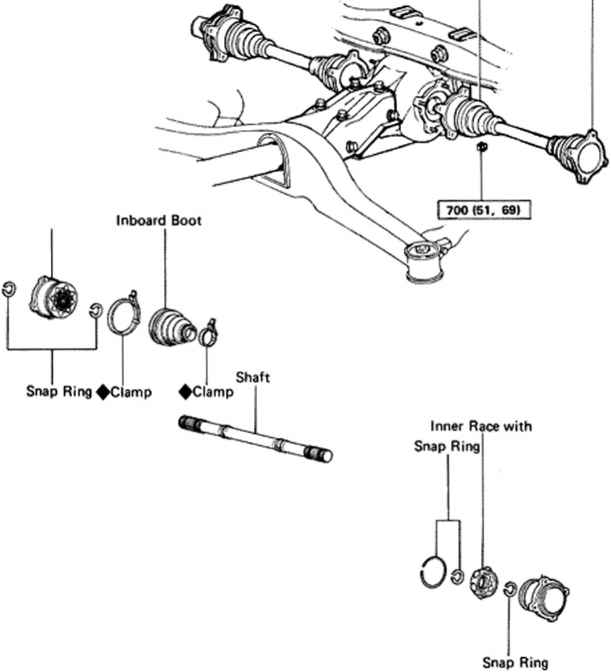 1994 Ford F 150 Engine Diagram in addition Toyota Camry 2 5 1990 Specs And Images as well Toyota And Lexus Suv Bump Kick Or Jump After Stopping Sticking Rear Driveshaft Repair together with P 0996b43f8025f149 besides 280 Nissan X Trail T31 2007 2013. on 2006 toyota rav4 front suspension diagram