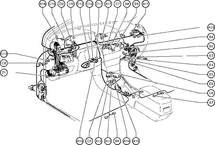1994 toyota pickup engine compartment diagram trusted wiring diagram u2022 rh macpcs co Toyota 22RE Engine Diagram Sensors Toyota 22RE Engine Diagram Sensors
