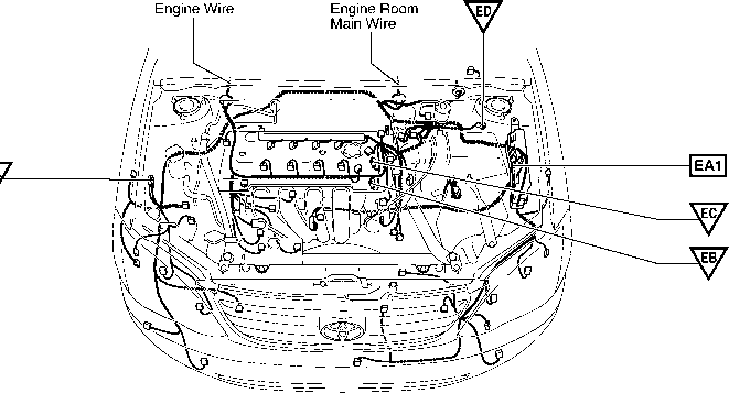 Position Of Parts In Body on toyota tacoma airbag sensor location