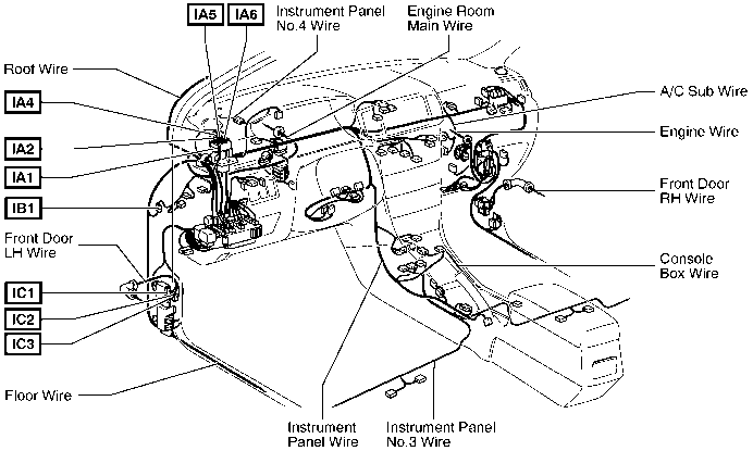 2004 Corolla Fuel Pump Relay Diagram Toyota Corolla 2004 Wiring