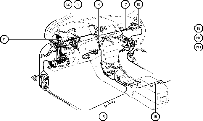 1999 lexus es 300 fuse box diagram  1999  free engine