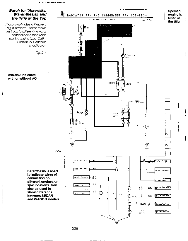 1992 Toyota Pickup Wiring Diagram: Toyota Camry Electrical Wiring Diagram - Toyota Engine Control Systems,Design