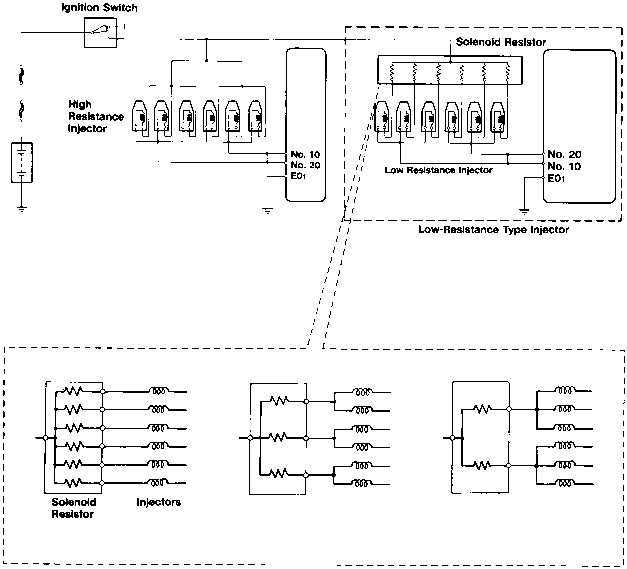 injector driver circuits