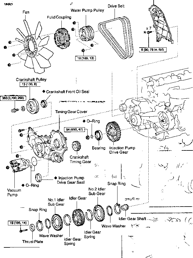 A Qkw on Toyota Land Cruiser Engine Diagram