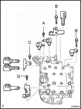 Shift Solenoid Toyota Rav4 Location