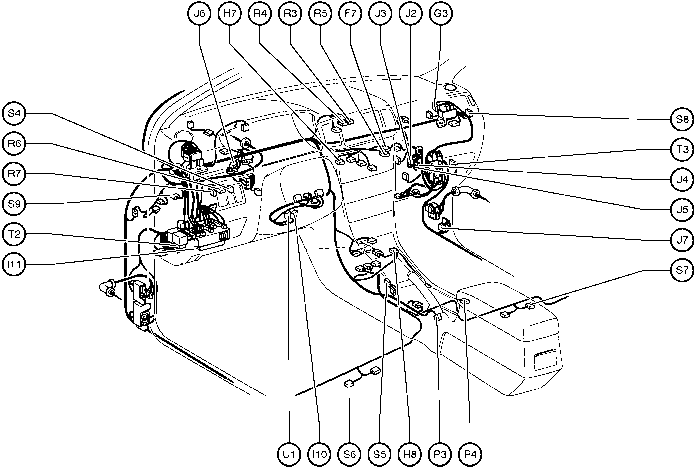 2011 Toyota Hilux Junction Connector