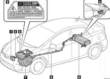 Toyota Prius Hybrid Batteries Air Intake