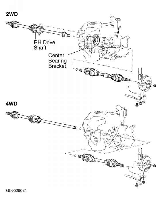 Exploded View 2006 Rav4 Steering
