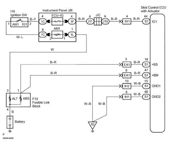 2001 Toyota Sequoia Fuse Diagram