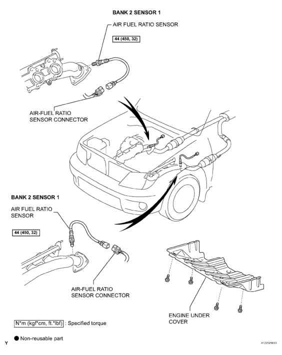 Air Fuel Sensor Toyota 4runner Location