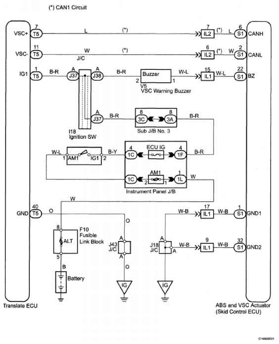 Indicator Buzzer Wiring Diagram