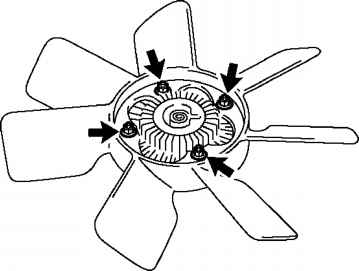 Fan With Fluid Coupling For Tacoma