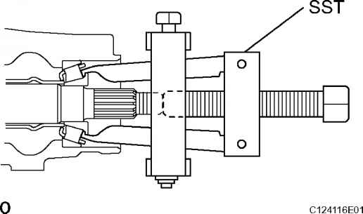 How Remove Drive Pinion