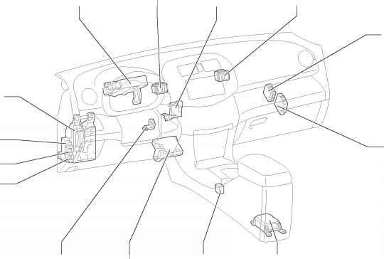 Instrument Panel - Toyota Rav4 Wiring