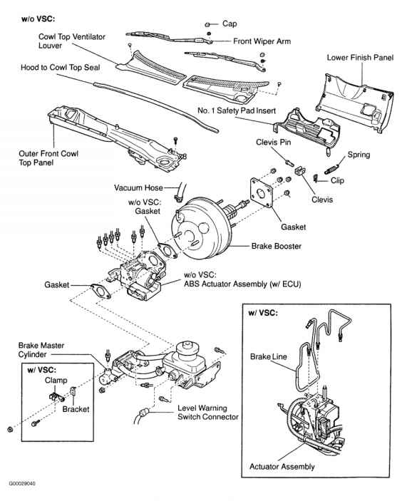 2003 Toyota Highlander Diagram likewise RepairGuideContent further 1994 Lexus Es300 Thermostat Location in addition P 0996b43f80378c55 likewise Power Brake Unit. on sienna disconnect abs