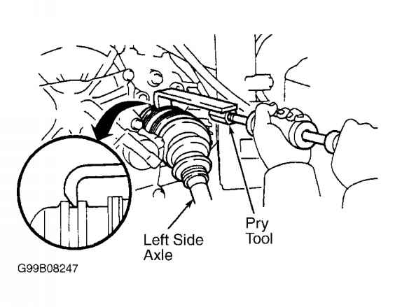 Note on fwd vehicles removal of rightside axle shaft requires 9 removing left side axle shaft awd rav4 courtesy of toyota motor sales usa inc fandeluxe Image collections