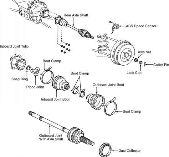 1994 buick regal rear suspension