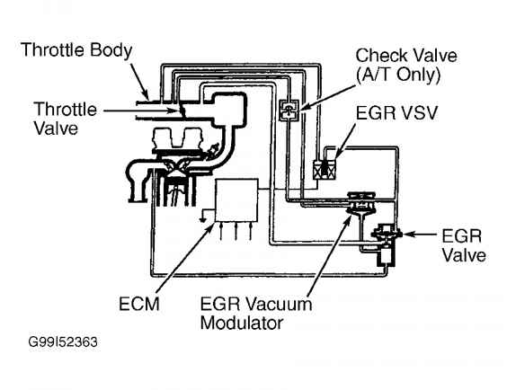 geo prizm 1996 exhaust diagram