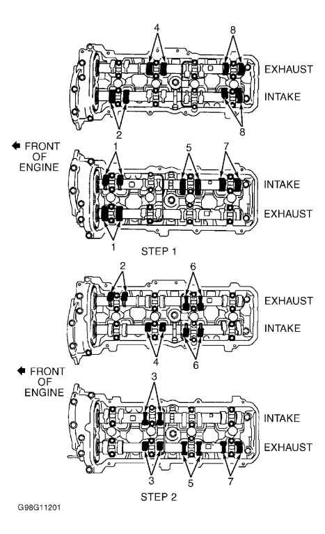 note check and adjust valve clearance with engine cold