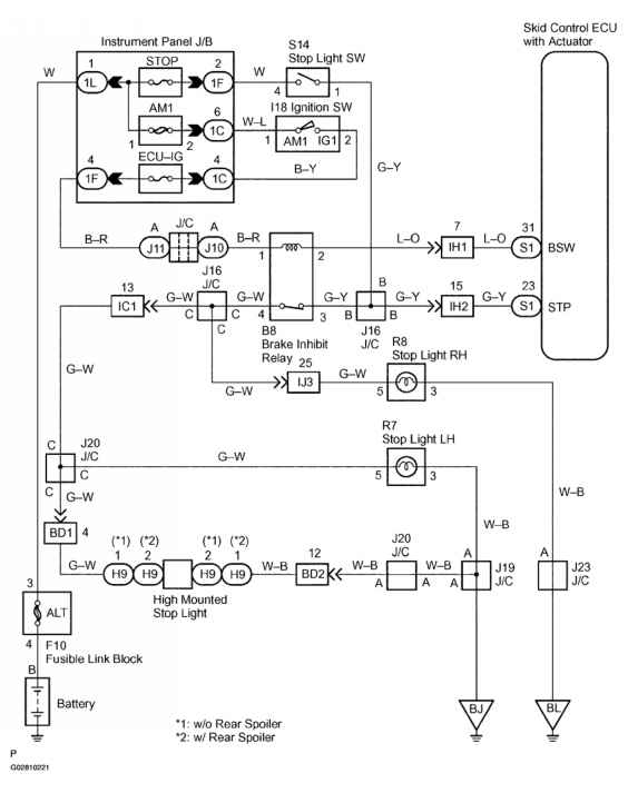 2001 Toyota Ta A Tail Lights Wiring Diagram