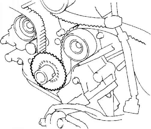 toyota echo belt diagram
