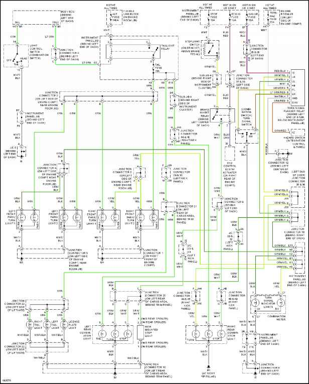[TBQL_4184]  Exterior Lights - Toyota Sequoia 2004 Repair - Toyota Service Blog | 2007 Toyota Tundra Trailer Wiring Diagram Schematic |  | Toyota Service Blog