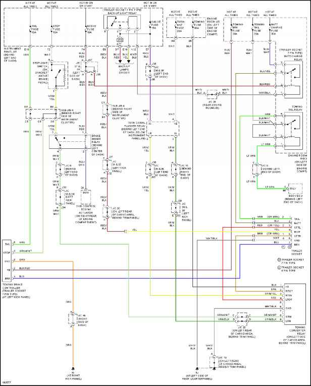 1865_1335_1049 2006 sequoia trailer wiring diagram exterior lights toyota sequoia 2004 repair toyota service blog toyota yaris headlight wiring diagram at virtualis.co