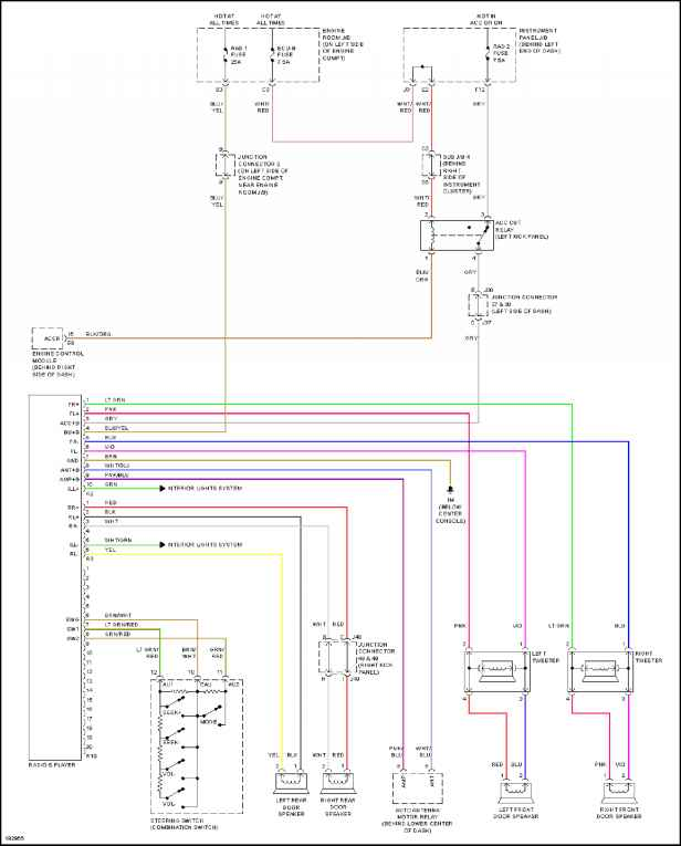 2004 toyota radio wiring diagram 2004 toyota echo wiring diagram