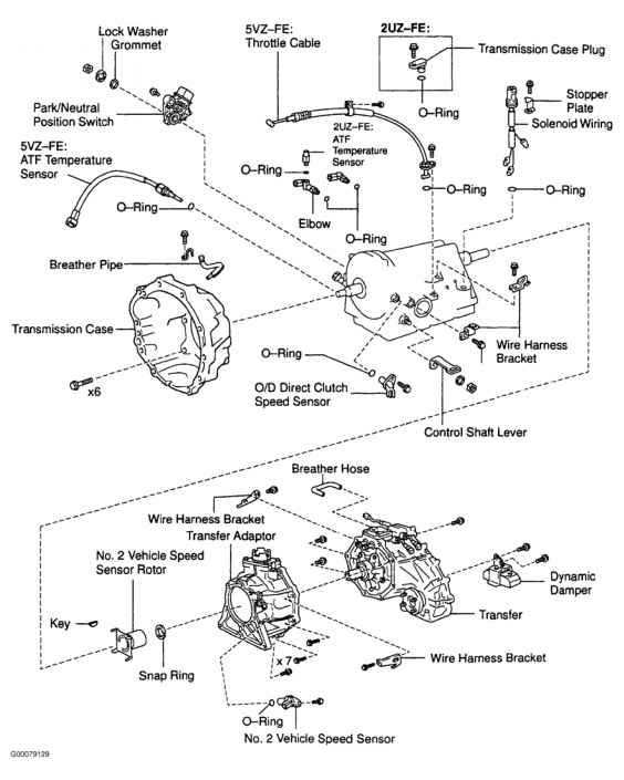 Nd Brake Clutch Pack Clearance Specifications on tacoma clutch diagram