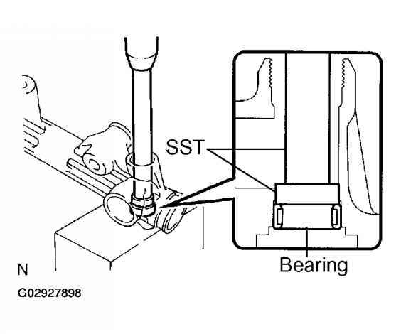 How To Remove A Power Steering Pump Sequoia 2004 Toyota Sequoia 2004 Repair