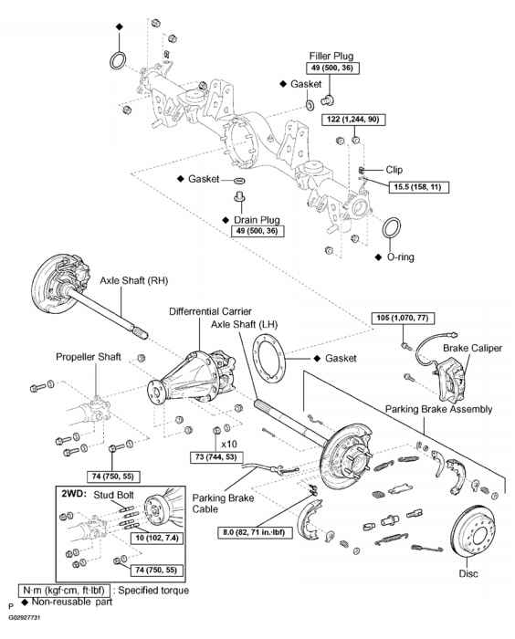 Rear Differential Carrier Sequoia
