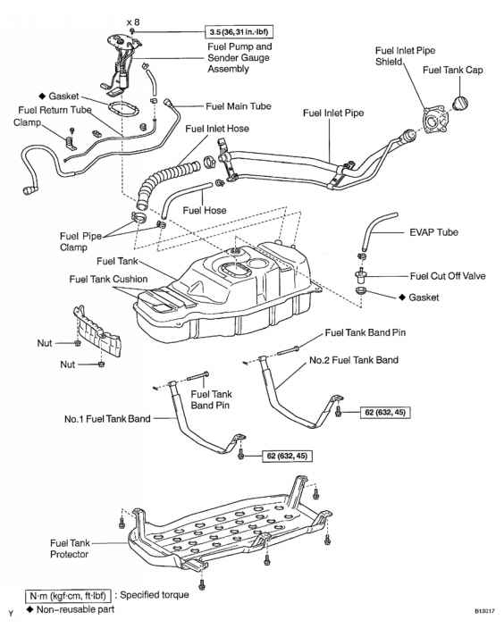 Toyota Pickup Fuel Line Diagram on 1994 Toyota Camry Motor Mount Diagram