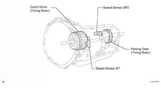 2000 toyota avalon sd sensor location diagram