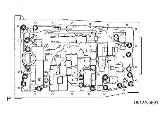 Remove Transmission Wire - Toyota Sequoia 2006 Repair