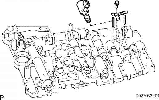 service manual  how to change shift solenoids on a 2010