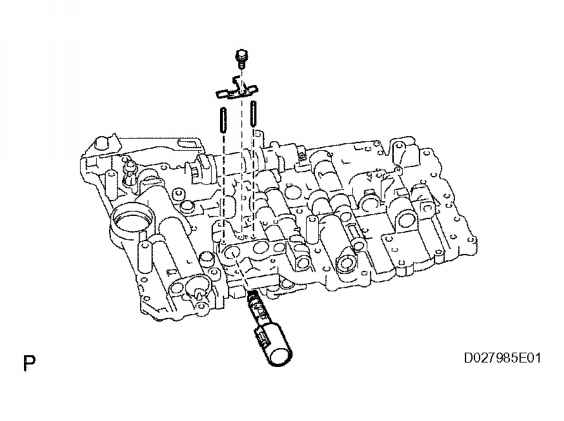 lexus rx300 shift solenoid with Remove Shift Solenoid Valve Slt 1 on Diagram Of Lexus Gs400 Engine together with Caution Do Not Allow Valve Body Plate To Separate From Upper Valve Body During Removal Or Check Balls And Strainer May Fall Out as well Lexus Rx300 Engine Back Wiring Diagram additionally Remove Shift Solenoid Valve Slt 1 likewise Lexus Transmission Diagrams.
