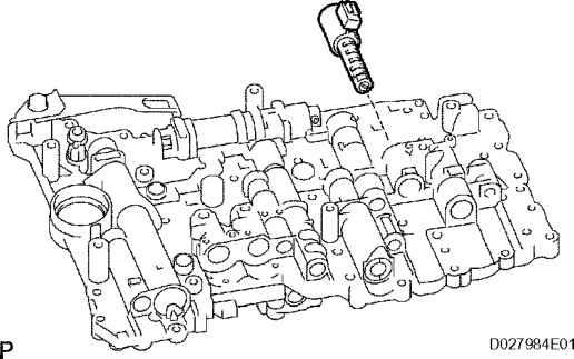 Remove shift solenoid valve toyota sequoia 2006 repair Courtesy motor sales inc