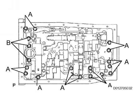 remove shift solenoid valve