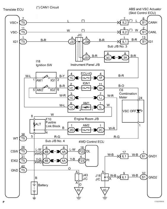 90 Toyota Land Cruiser Wiring Diagram Wiring Diagram For